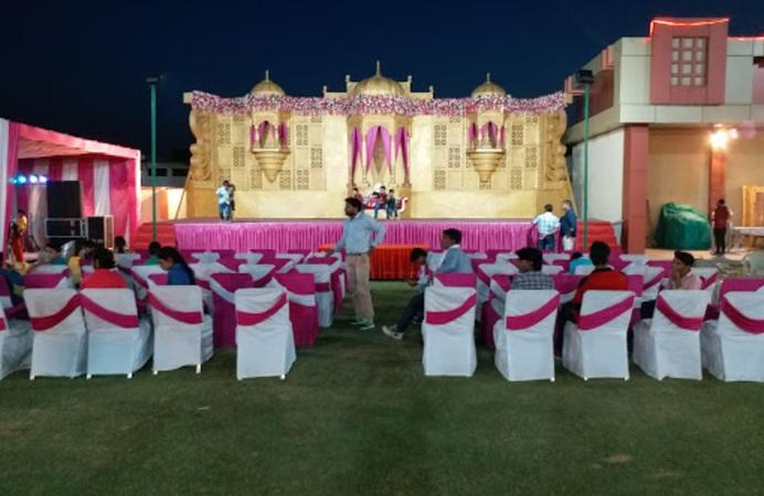 Priti Paradise Jamdoli Jaipur - Banquet Hall