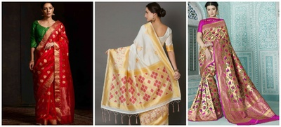 Attending a Home Wedding? Here are 7 Types of Traditional Indian Sarees you can Wear