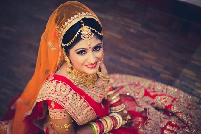 Mehndi Makeup Artist : Nupur makeup artist bridal in old gurgaon delhi