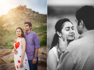 Simple and elegant pre wedding shoot by Siddharth Sharma.