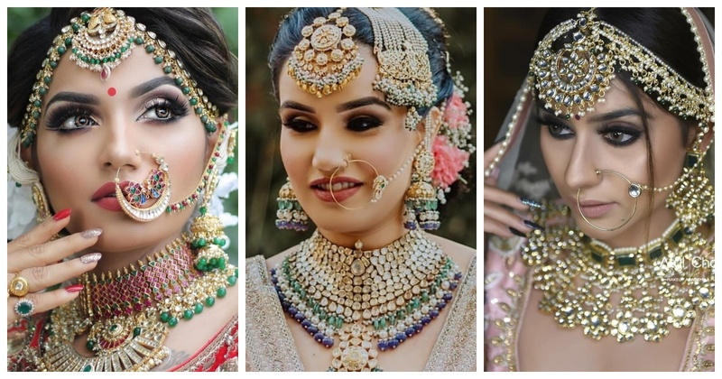 Dramatic jewellery pieces for brides who want to make a statement!