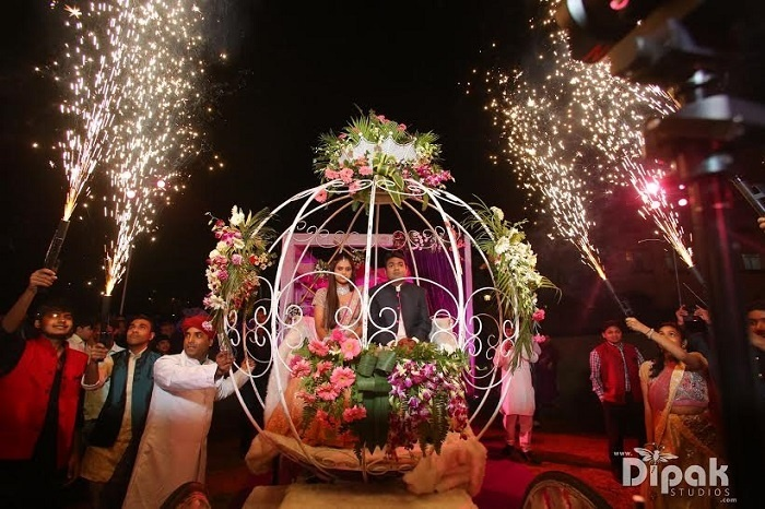 Indian Wedding Entry Ideas