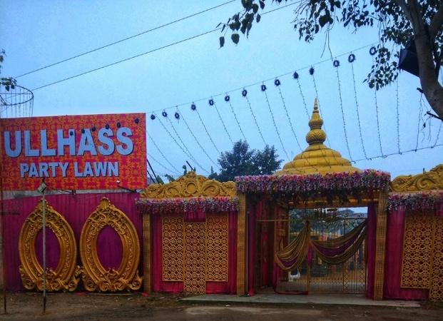 Ullhass Party Lawn Burari Delhi - Banquet Hall