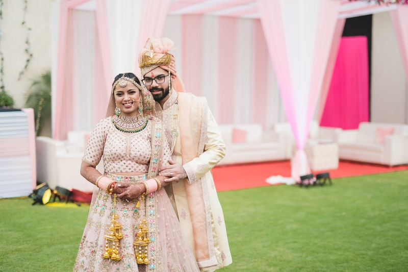 Rohan & Prarthana Delhi : ' When two hearts met in college they graduated to marriage a decade later!'