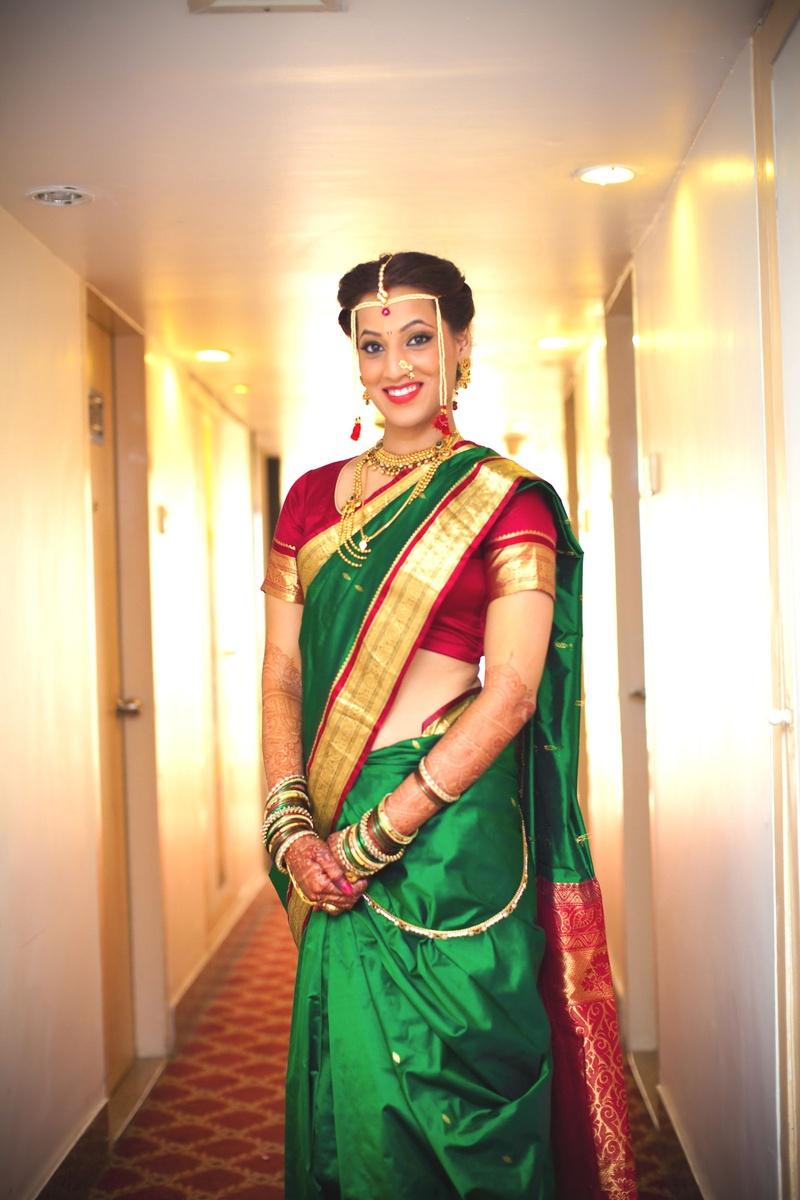 Hairstyle In Marathi Wedding - Mau Tahu i
