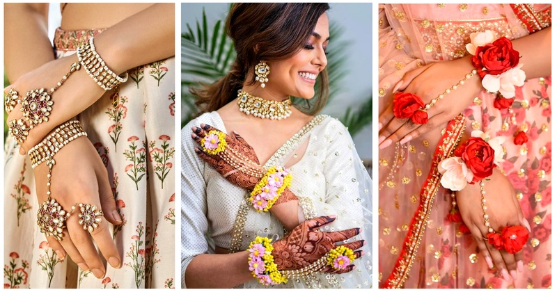 10+ Stunning Haath-phools that you should definitely consider for your mehndi or haldi ceremony!