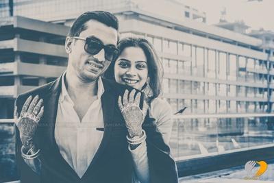 Creative wedding photo shoot by Camera Crew