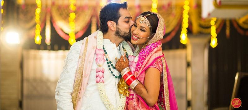 Akhil & Ratica Mumbai : This couple's quirky wedding is a movie buff's dream!