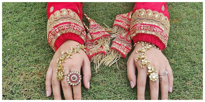 #TrendAlert - Time to add Chooda Covers in Your Bridal Trousseau!