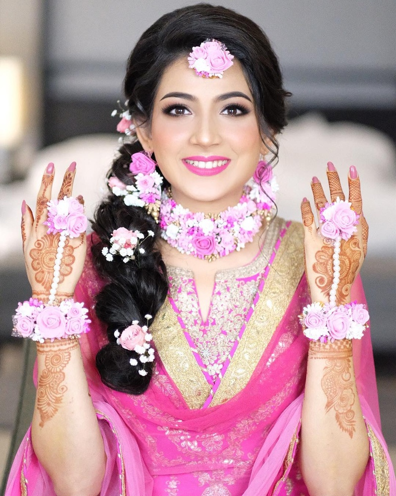 20 Hairstyles For Lehenga You Can Try On Your Wedding Day Bridal Look Wedding Blog