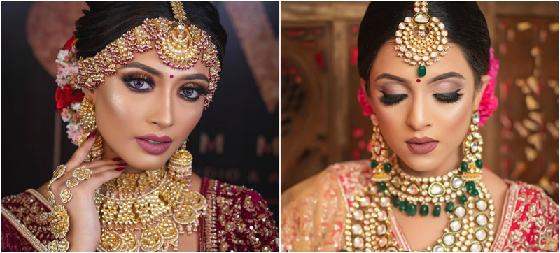 5 Most Mesmerizing Bridal Makeups and Hairstyles