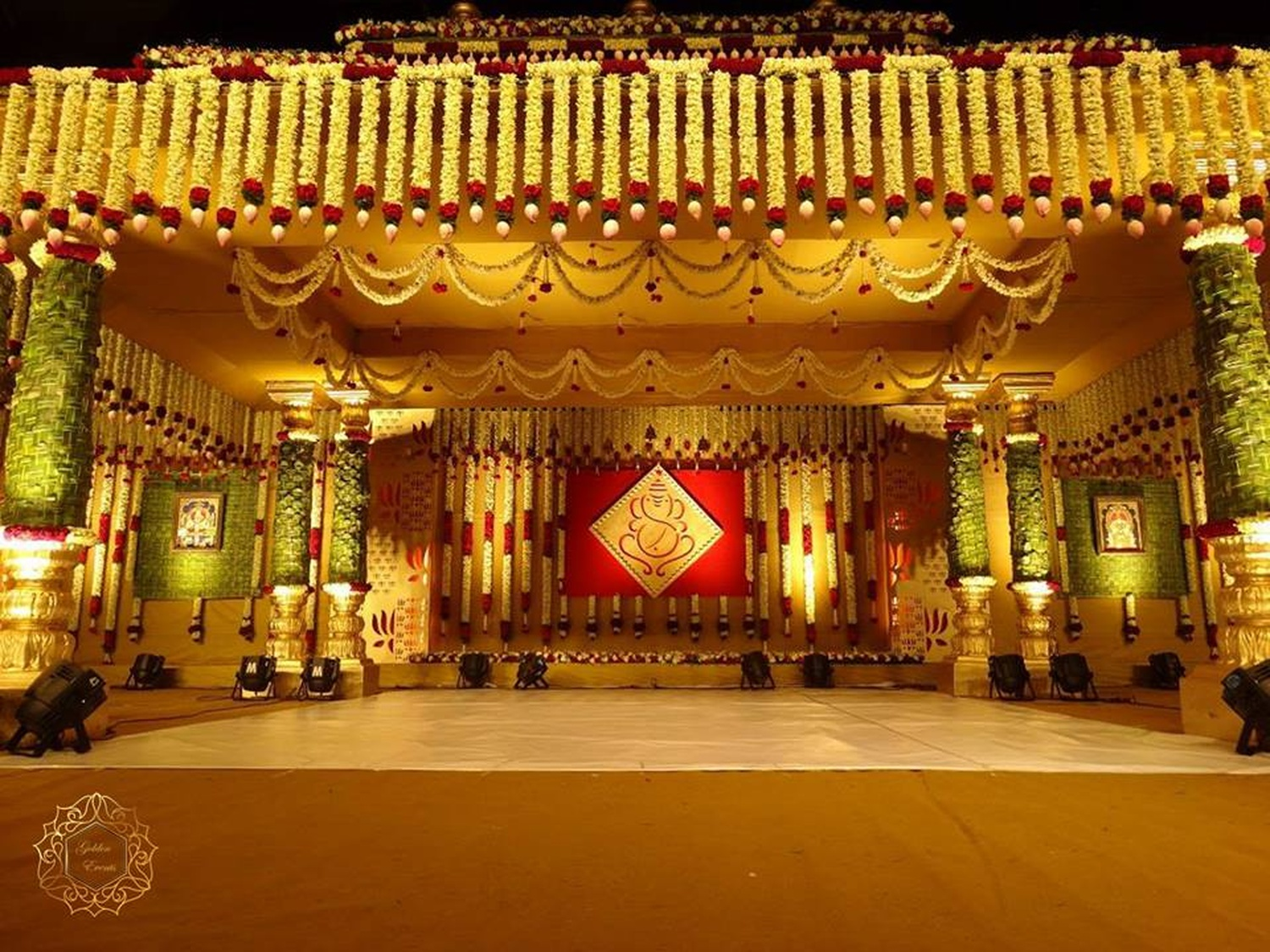 indian wedding decorators golden events wedding decorator in banjara 5097