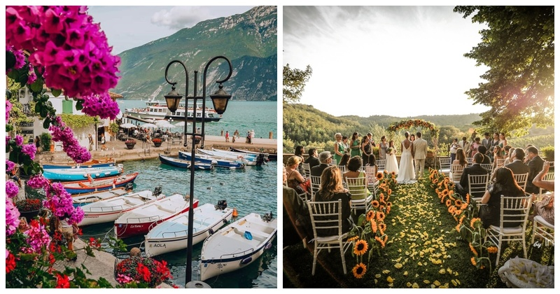 6 Spots in Italy for a Romantic Destination Wedding
