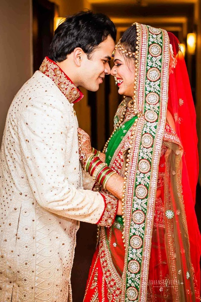 Picture perfect wedding photo captures by Sudhanshu Verma Photography