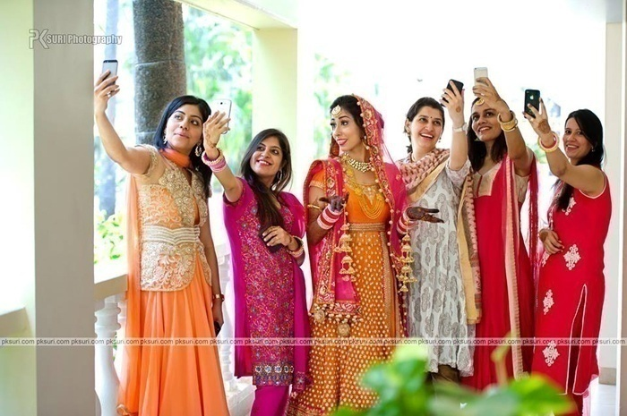 PHOTOS ARE TO BE CLICKED ONLY AFTER THE WEDDING