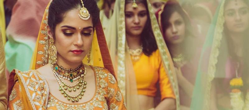 Joseph & Ananya Mumbai : This bride's yellow Sabyasachi lehenga is breaking all wedding rules!