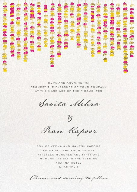 Wedding Invitation Wording Guideline You Must Check Out Before