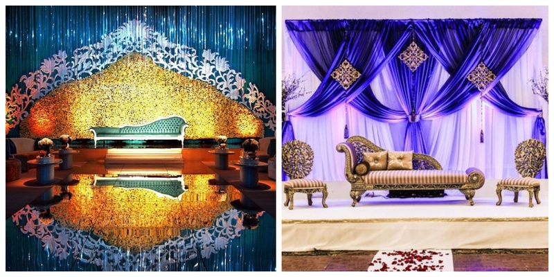 40 Best Wedding Reception Stage Decoration Ideas for 2018 - Blog