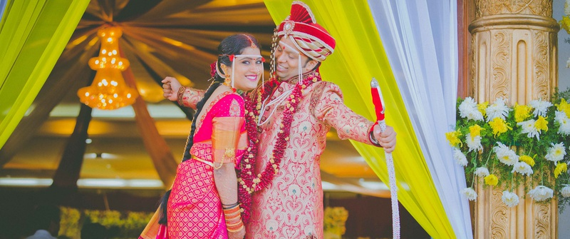 Amar & Ishanee Mumbai :  Witness True Happiness And Good Times at this Wedding Ceremony