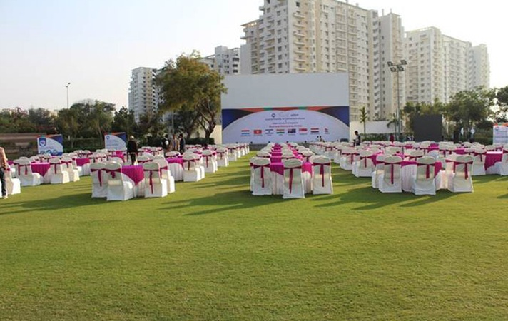 The Belvedre Golf And Country Club S G Highway Ahmedabad - Banquet Hall