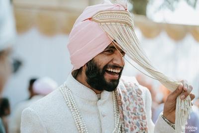 Sikh groom sehra