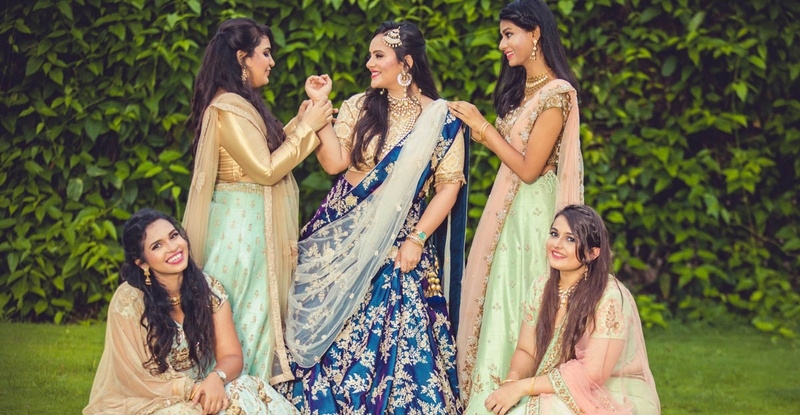Mumbai's Biggest Wedding Labels Came Together For This Bride-And-Bridesmaids Photoshoot And It Is Beyond Gorgeous!