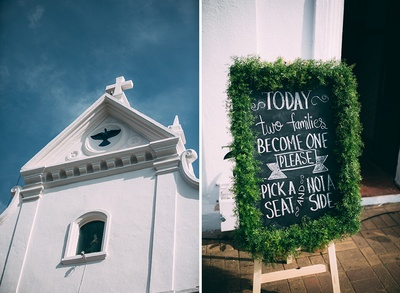 Chalk and board decoration ideas. DIY wedding decoration ideas