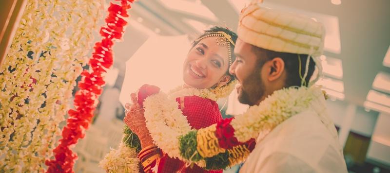 Naveen & Venisa Chennai : An Intimate South-Indian Wedding held at MK Mahal, Chennai