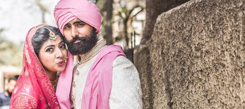 Taran & Ayesha Mumbai : Contemporary Sikh Wedding held at Kino Cottage, Mumbai