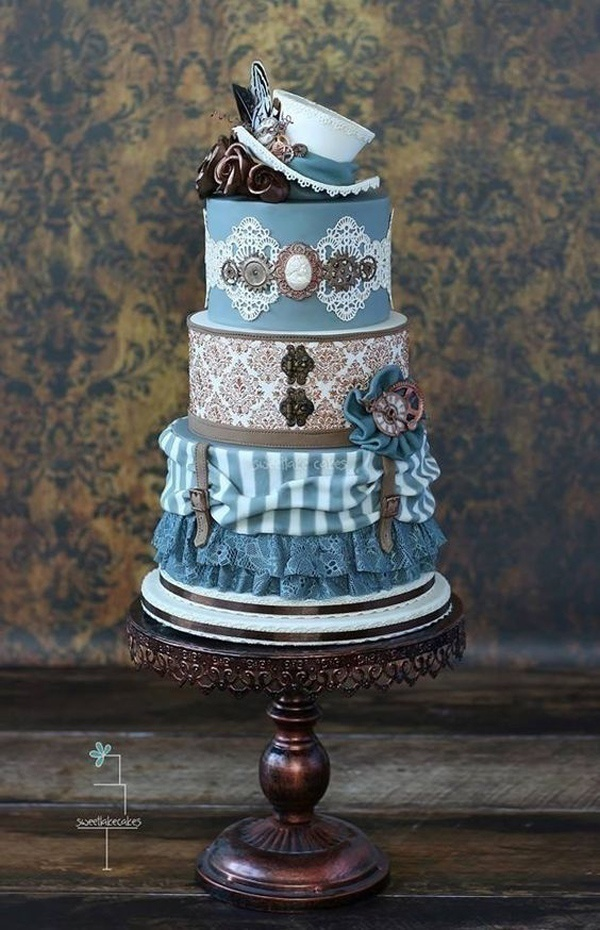 Dark and Whimsical: Goth Wedding Cakes