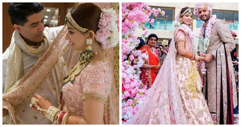 When Manish Malhotra himself styles a bride, she's GOT to look this stunning!