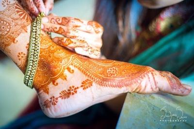 Bridal jewellery photography.