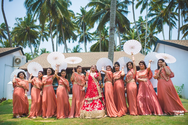 Deepak & Gahana Others : Beautiful Mandap Decor, Traditional Kovalam setting and white sandy beaches at this gorgeous wedding
