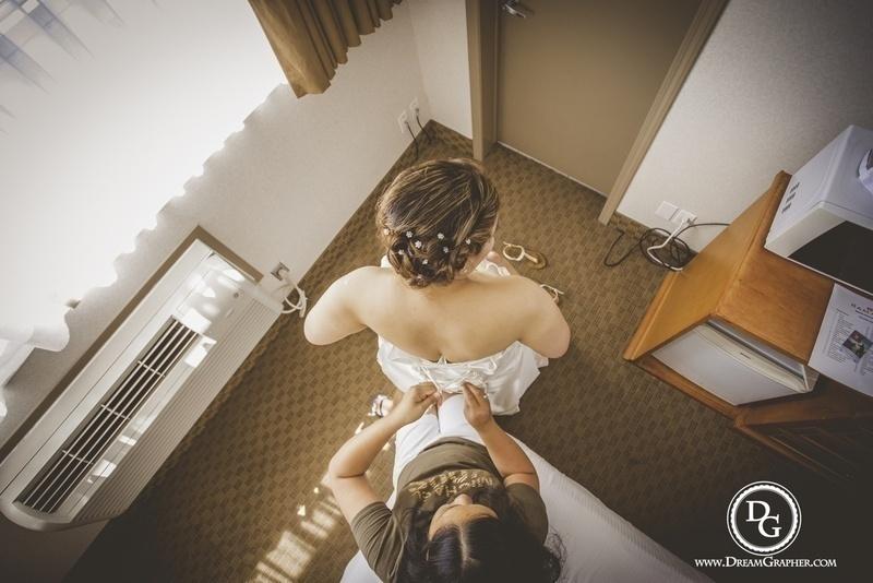 International Love : Magical Christian Wedding held at Alberta, Canada