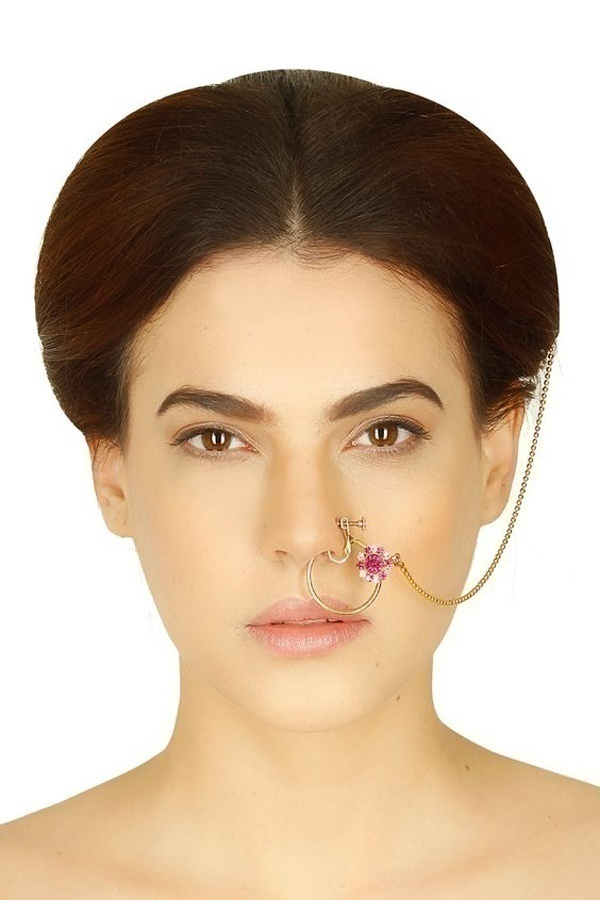 Lightweight and Stunningly Delicate Gold Nose Rings