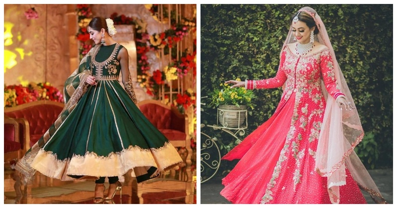 10 breathtaking anarkali designs for brides-to-be!