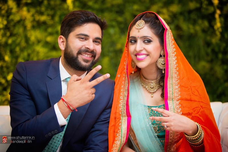 Peeyush & Sapna Chandigarh : An Extravagant Wedding Ceremony Held at the PCA Grounds, Mohali