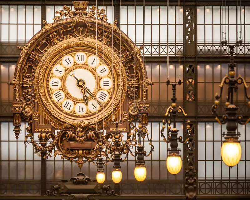 5. From Behind the Clock in the Musée d'Orsay :