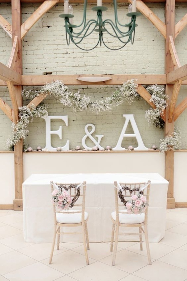 Let them Swing - Wedding Hanging Decoration