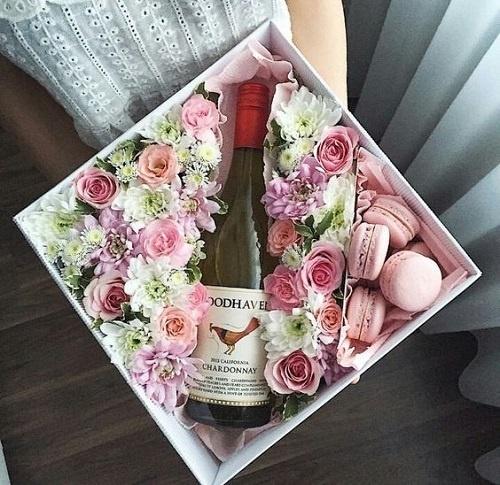 A Wedding Wine Box / Basket
