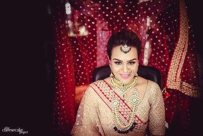 Kainaat gets ready at Hyatt Regency for her wedding