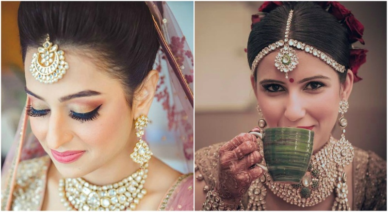 15 Best Maang Tikka and Matha Patti Looks Of 2017 – #Weddingz2017Rewind!