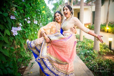 Pre wedding fun with brides maids.