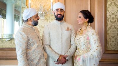 Karan with his parents!