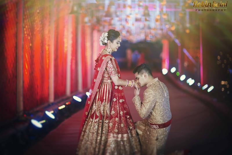 Raunak & Sonam Pune : Majestic Wedding held at Oxford Golf and Country Club, Pune