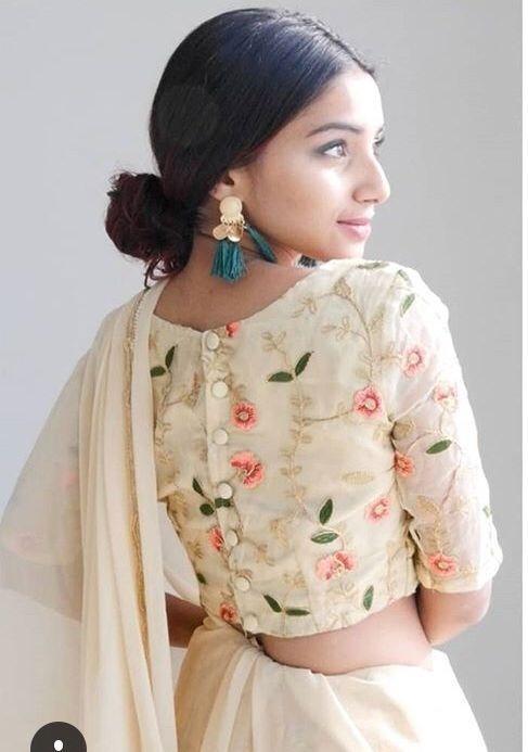20 Latest Stylish Saree Blouse Back Neck Designs 2020 Buy Lehenga Choli Online