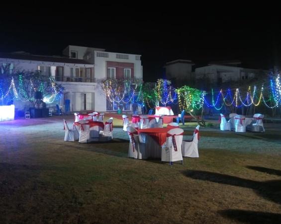 Odour Resorts Mahabalipuram Chennai - Banquet Hall