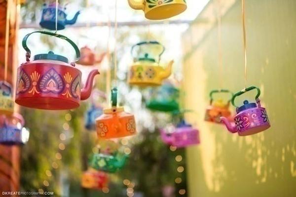 Hand-painted Cute Little Tea Kettles