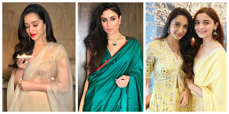 These celebrities' Diwali outfits are major wedding wear goals for this Shaadi season!