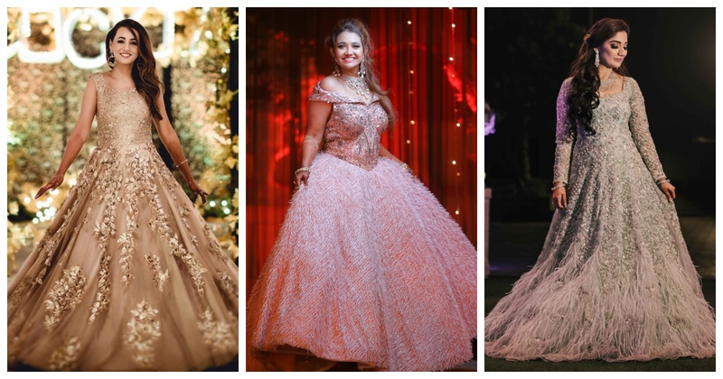 8 Extravagant Gowns you must bookmark for your Reception ceremony!